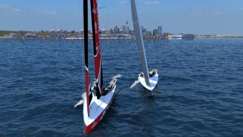 America's Cup AC75 - Class concept announcement - November 21, 2017 © Emirates Team New Zealand http://www.etnzblog.com
