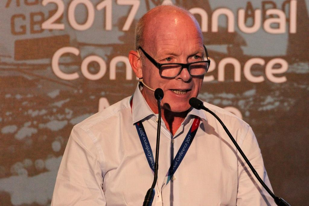 Mike Golding OBE presents Sustainability Agenda 2030 © World Sailing