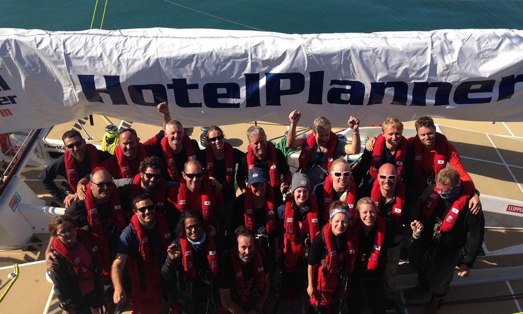 The newly formed HotelPlanner.com crew ahead of departing Port Elizabeth - 2017 - 18 Clipper Round the World Yacht Race © Clipper Round The World Yacht Race http://www.clipperroundtheworld.com