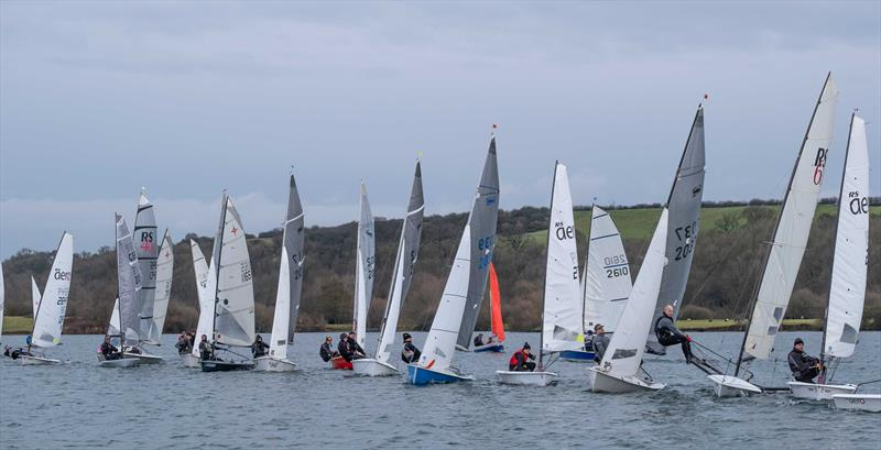 Start during the Notts County Cooler 2019 photo copyright David Eberlin taken at Notts County Sailing Club and featuring the Scorpion class