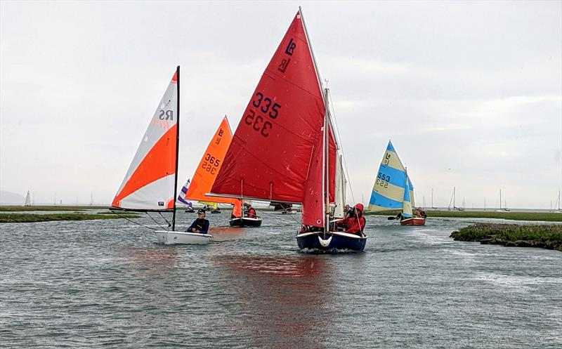 A combination of sailing and paddling in the Four Lakes Race - photo © Mark Jardine