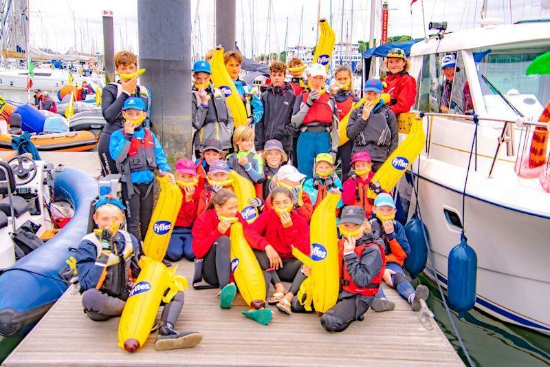 2019 Junior Regatta at Royal Lymington Yacht Club