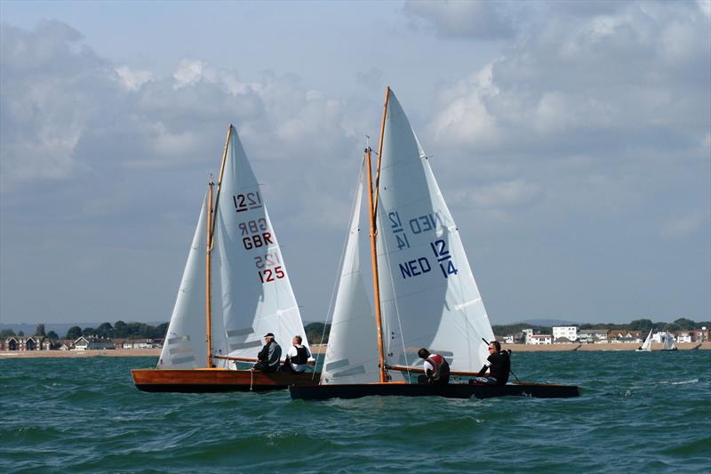55th European Sharpie Championship at Itchenor Sailing Club - Day 3