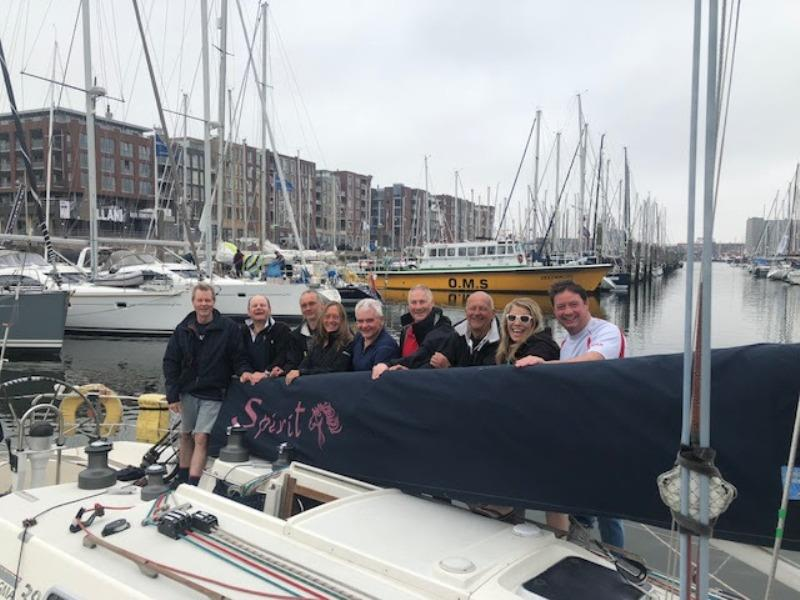 The Spirit Team celebrate at  the Yacht Club Scheveningen. - photo © Team Spirit