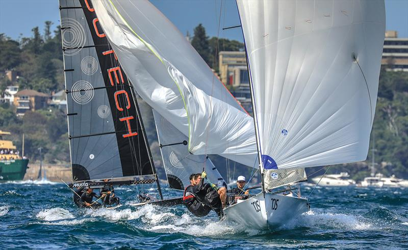 Peroni 16ft & 13ft Skiff Champs goes down to the wire despite the \'heat\'