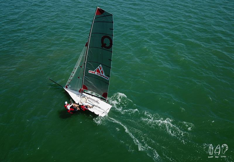 QLD Fire Stopping are still leading the QLD boats - photo © Mitchell Pearson / SurfSailKite