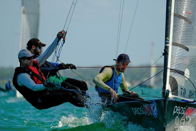 Pepsi took out race 3 - photo © Mitchell Pearson / SurfSailKite