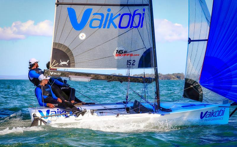 Vaikobi 16ft Skiff Team Skipper: Max Voss Main: Alex Chittaden Bow: Tim Lake - photo © Michael Chittenden