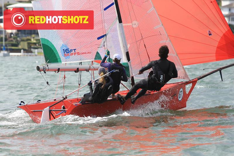 41st Australian Secondary Schools Championships 2019 photo copyright RedHotShotz Photography taken at  and featuring the 16ft Skiff class