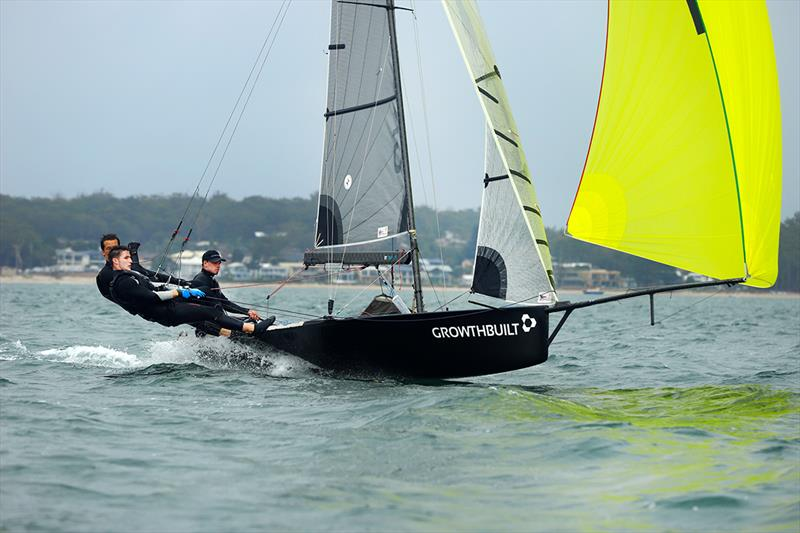 Race 9 Growthbuilt 3rd across line and overall - 2020 Australian 16ft and 13ft Skiff Championships - photo © Mark Rothfield