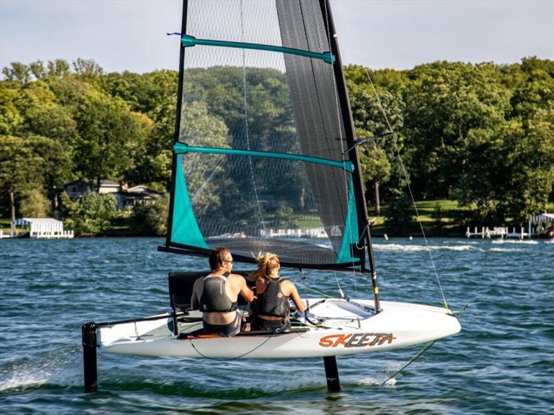 Skeeta and Nikki selected for U.S. SailGP Team's Foiling First