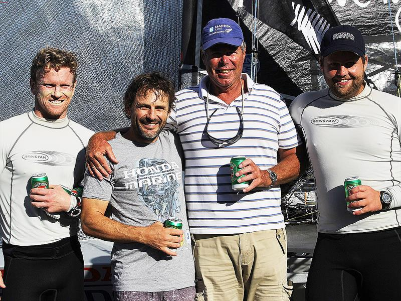 The Honda Marine 18ft Skiff JJ Giltinan champions with Graham Catley, the man most responsible for the New Zealand revival - photo © Frank Quealey