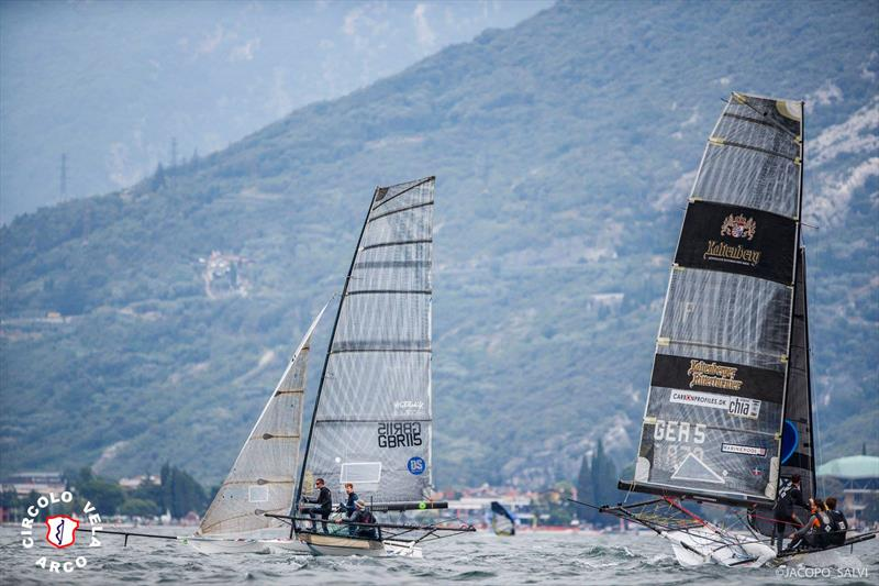 18ft Skiff World Championship for the Mark Foy Trophy on Lake Garda - photo © Circolo Vela Arco / Jacapo Salvi