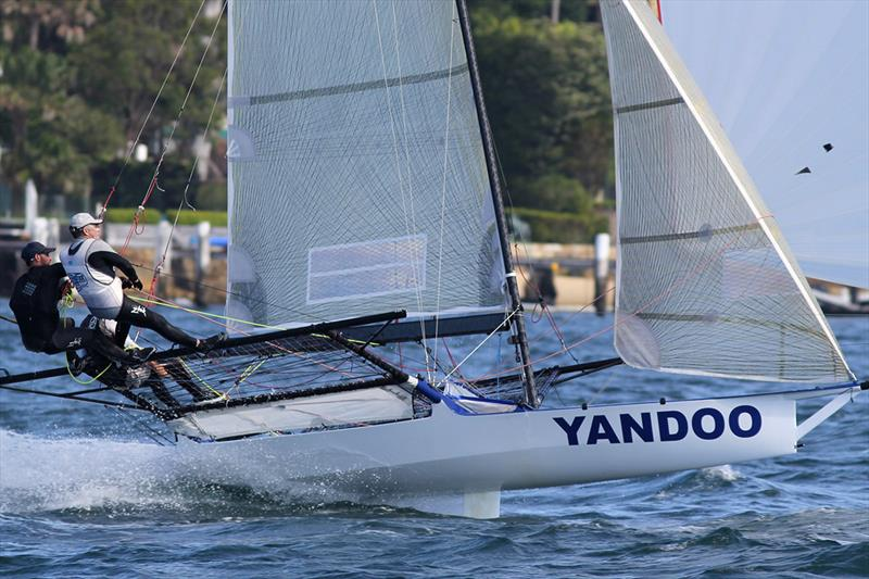 Yandoo leads the points table after 18ft Skiff NSW Championship race 3 - photo © Frank Quealey