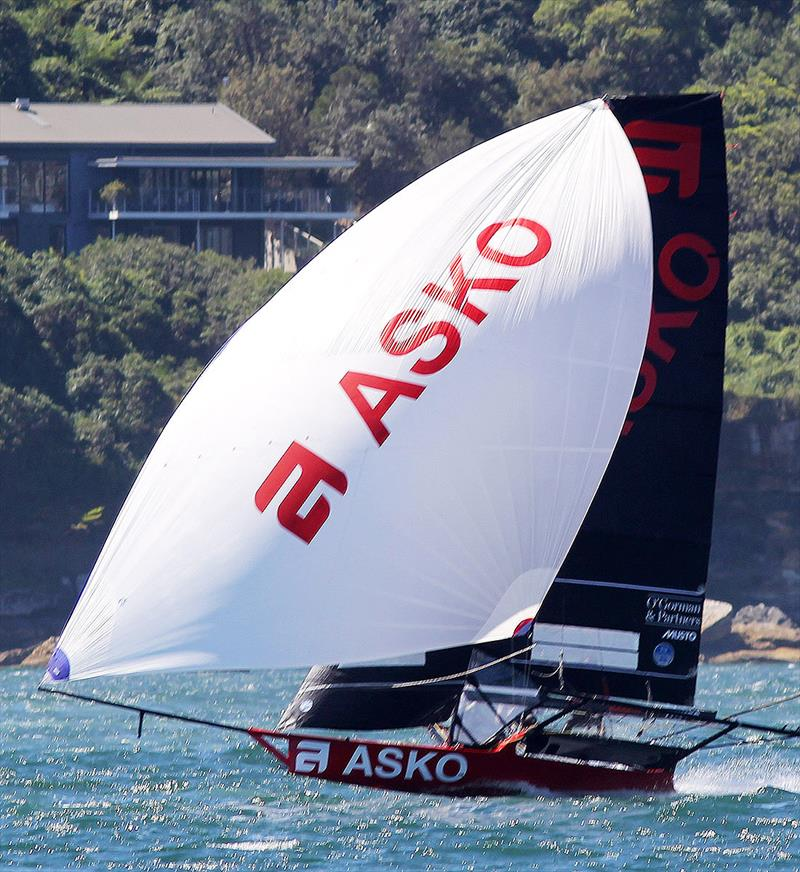 Asko Appliances, the new Australian 18ft Skiff champion - photo © Frank Quealey