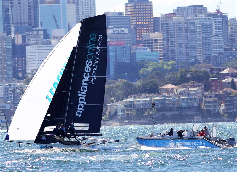 Appliancesonline set for 18ft Skiff Spring Championship victory