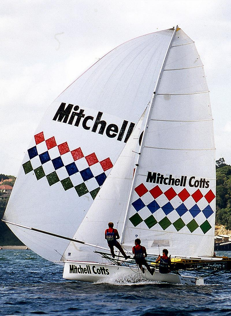 John Winning skippered Mitchell Cotts for Patrick Corrigan in the 1980s - photo © Archive
