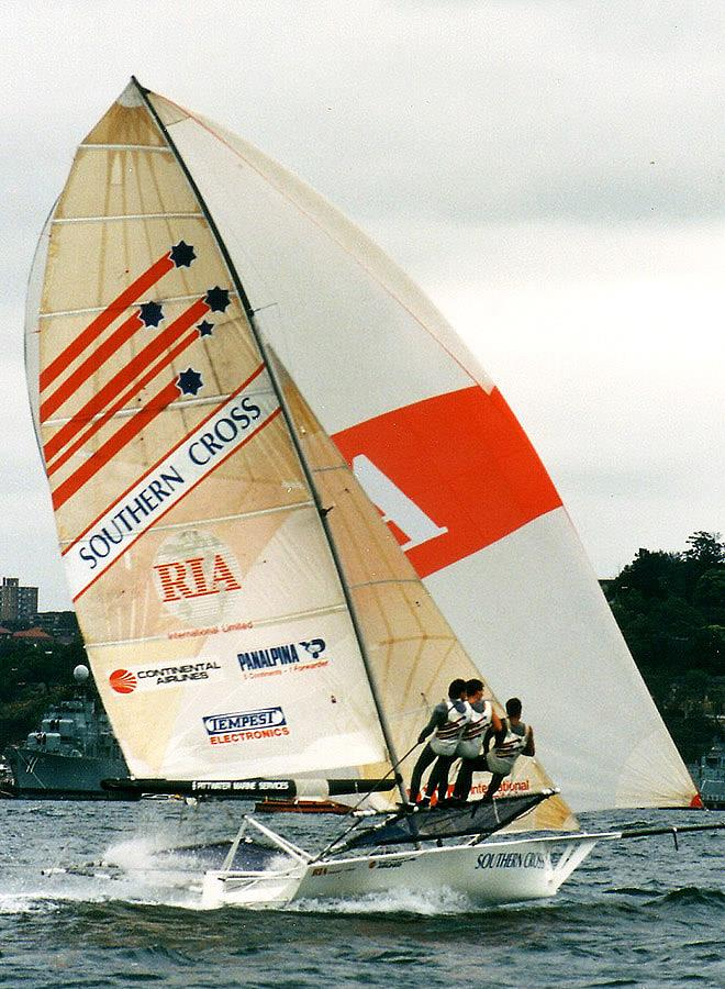 Southern Cross, joint champion in 1988 - photo © Frank Quealey