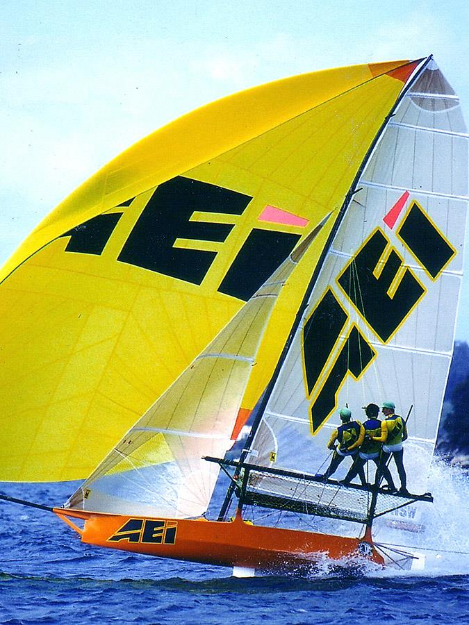 Stephen Quigley's AEI-Pace Express gave Patrick Corrigan his outright JJ Giltinan World Championship victory in 1996 - photo © Frank Quealey