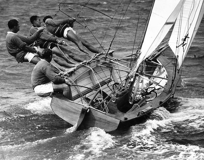 New Zealand's 18ft Skiff Racing Record: 1960, Surprise defeated a small fleet in Auckland - photo © Archive