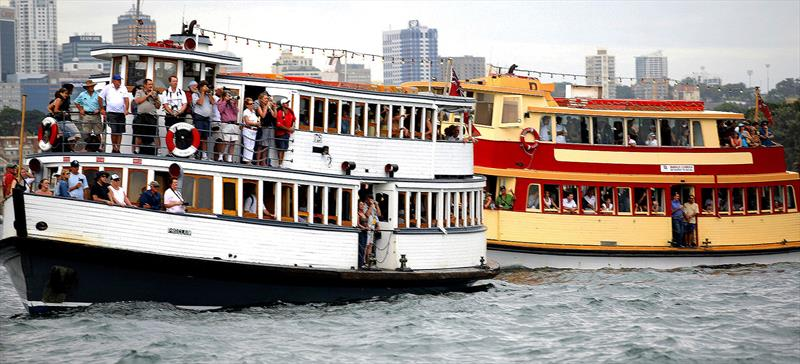 18 Footer Spectator Ferries in 2010 - photo © Archive