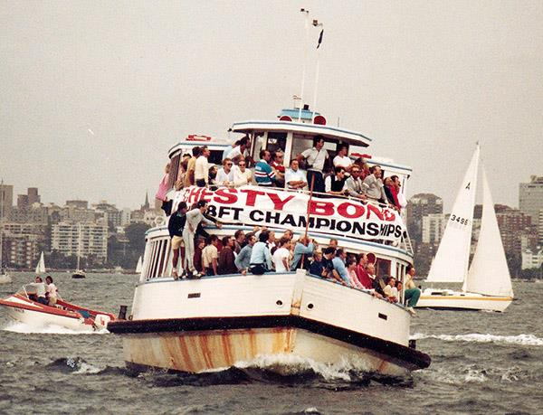 18 Footer Spectator Ferry in 1984 - photo © Archive