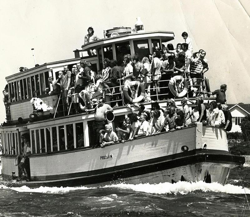 18 Footer Spectator Ferry, Proclaim used in the 50s - photo © Archive