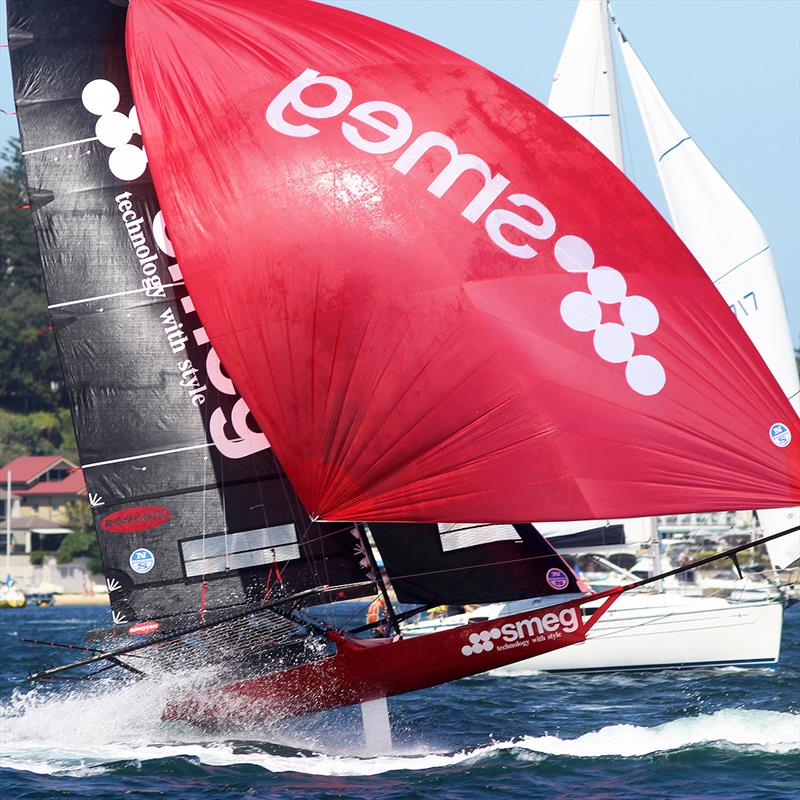 2016 Giltinan champion in action lats season on a busy Sydney Harbour - photo © Frank Quealey