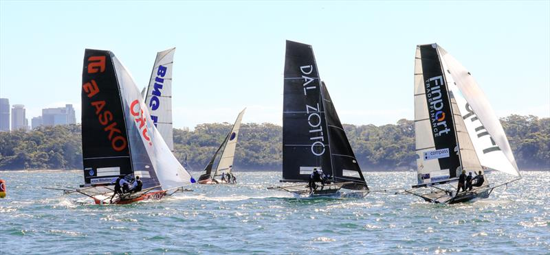 Finport - 18ft Skiff - Spring Championship 2018 Race 5 and 6 - Chris Webb Memorial Trophy - 3 Buoys - November 11, 2018 - photo © Michael Chittenden