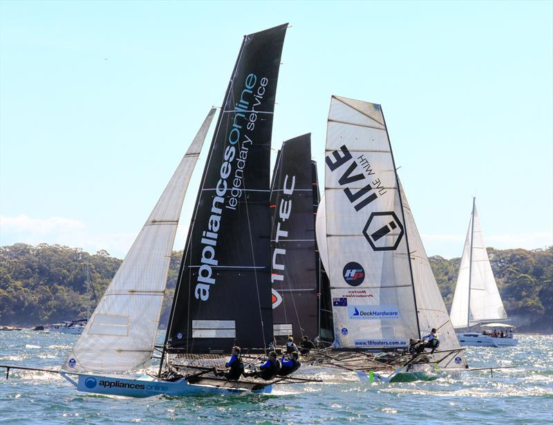 AoL - 18ft Skiff - Spring Championship 2018 Race 5 and 6 - Chris Webb Memorial Trophy - 3 Buoys - November 11, 2018 - photo © Michael Chittenden