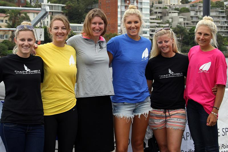 Two all-girl teams at the 2013 JJ Giltinan Championship - photo © Frank Quealey
