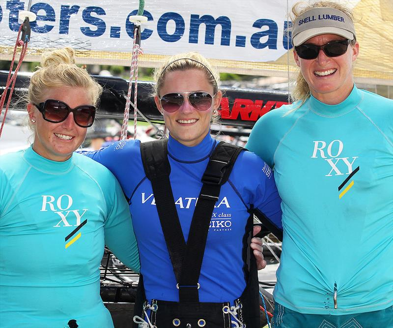 Katie Love's US team at the 2013 JJ Giltinan Championship - photo © Frank Quealey