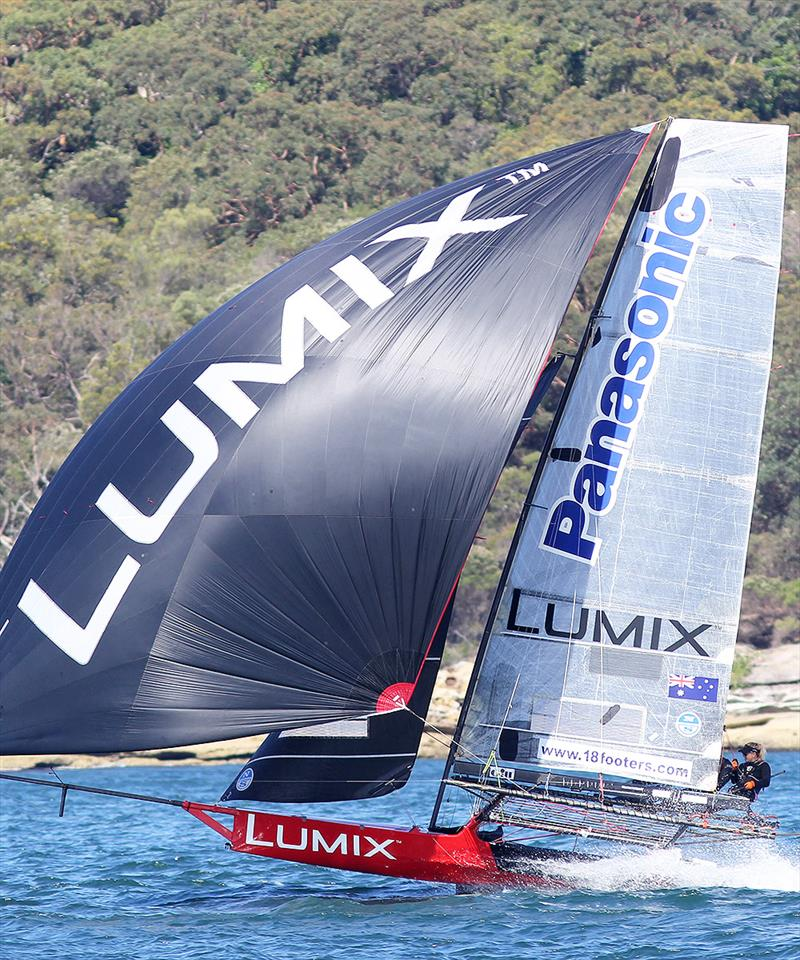 US sailor Katie Love and her Lumix team showed their best form so far this season - photo © Frank Quealey