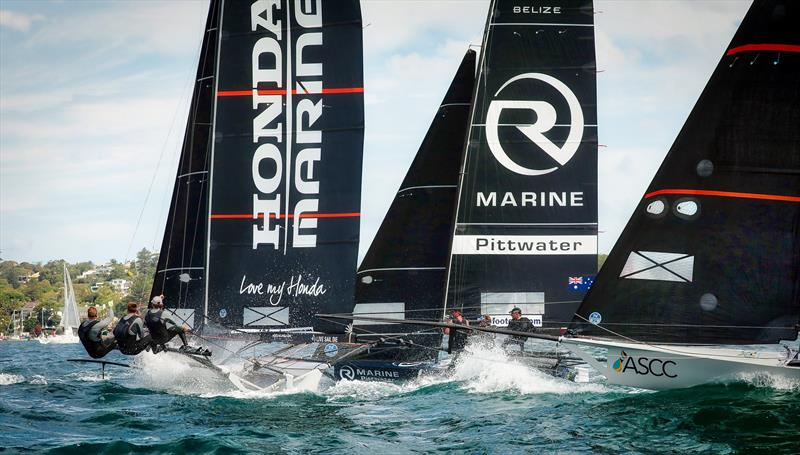 Honda Marine, R Marine and ASCC - 2019 JJ Giltinan Championship, Sydney Harbour, March 2019, - photo © Michael Chittenden