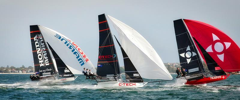 Honda Marine, C-Tech and Noakesailing - Race 3 - JJ Giltinan Trophy - Sydney harbour - March 5, 2019 - photo © Michael Chittenden