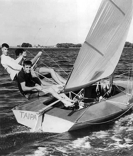 Bob Miller (Ben Lexen)'s Taipan - photo © Carl Ryves
