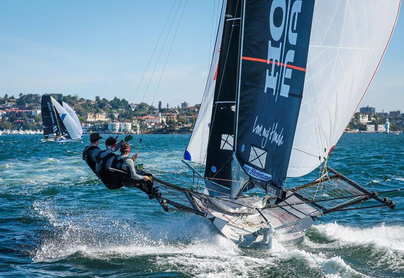 Honda Marine - Invitation Race - JJ Giltinan Trophy - March 13,2020 - Sydney Harbour - photo © Michael Chittenden