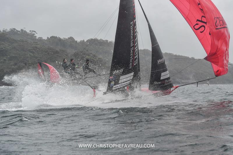Shaw & Partners - 18ft Skiff - JJ Giltinan Trophy - Race 1 - March 14, 2020 - Sydney Harbour, Australia - photo © Christophe Favreau / www.christophefavreau.com