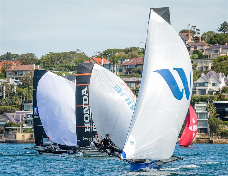 Winning Group lies seccond overall - 18ft skiffs - JJ Giltinan Championship - March 17, 2020 - Day 3 - Sydney Harbour - photo © Michael Chittenden