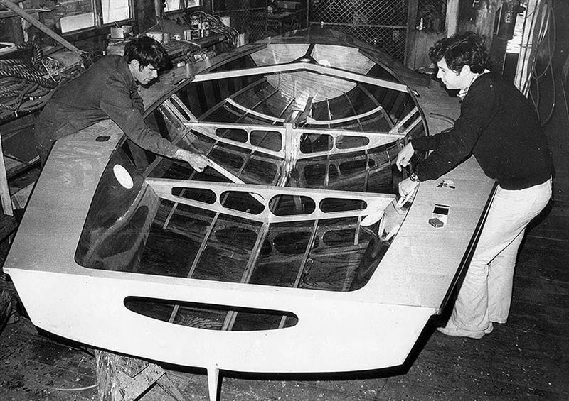 Booth Holden under construction - photo © Frank Quealey