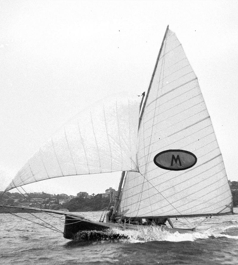 Myra Too in action at the 1951 Giltinan world Championship - photo © Frank Quealey