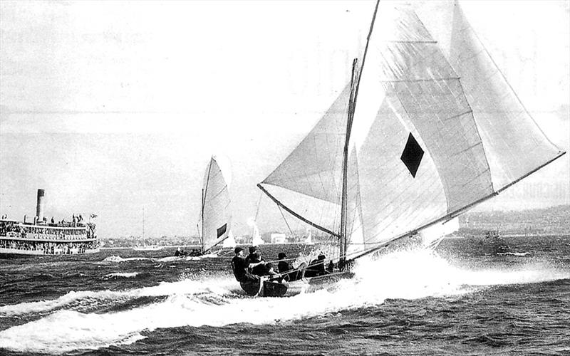 Aberdare was the breakthrough-style boat of the 1930s - photo © Frank Quealey