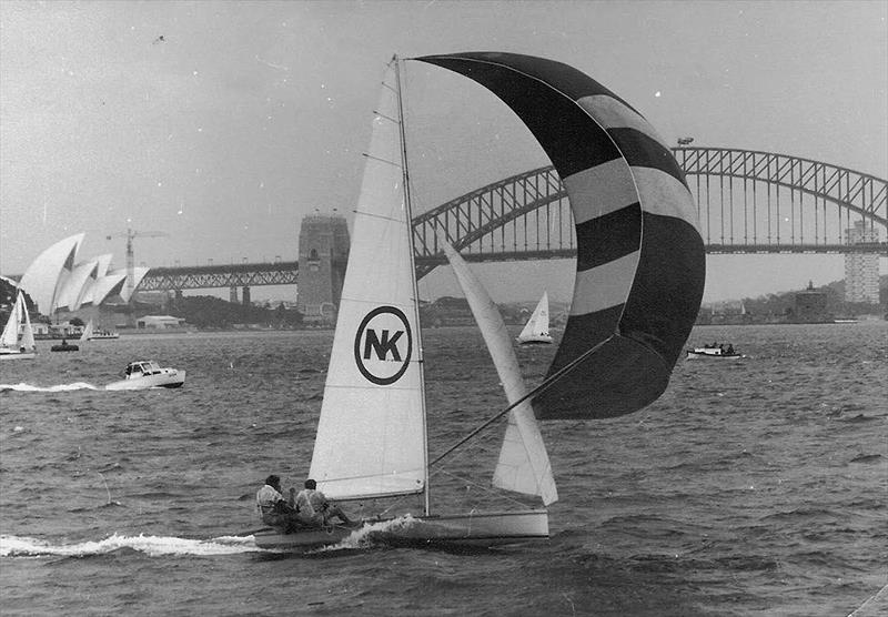 Nock and Kirby shows her paces on Sydney Harbour - photo © Frank Quealey