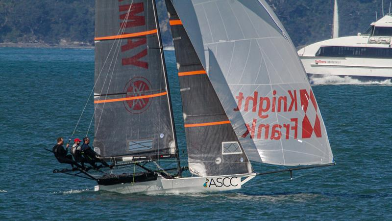 ASCC training on the Waitemata Harbour - October 3, 2020 - photo © Richard Gladwell / Sail-World.com