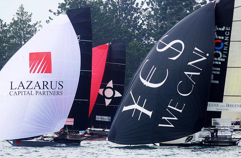Lazarus Capital Partners in a close battle with the experienced Noakesailing and Finport Finance teams - photo © Frank Quealey