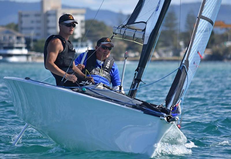 2020 Hansa SKUD18 Australian Nationals to be held at the Bartercard Sail Paradise Regatta