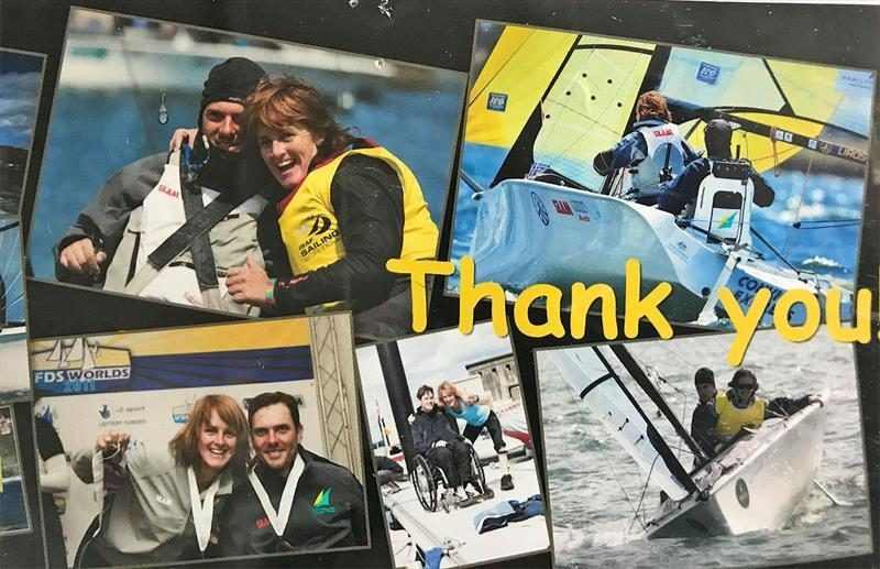 A thank you from happy, Gold Medal winning athletes... - photo © Adrian Finglas