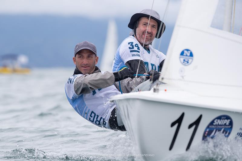 2019 Snipe World Championship - Day 2 - photo © Matias Capizzano