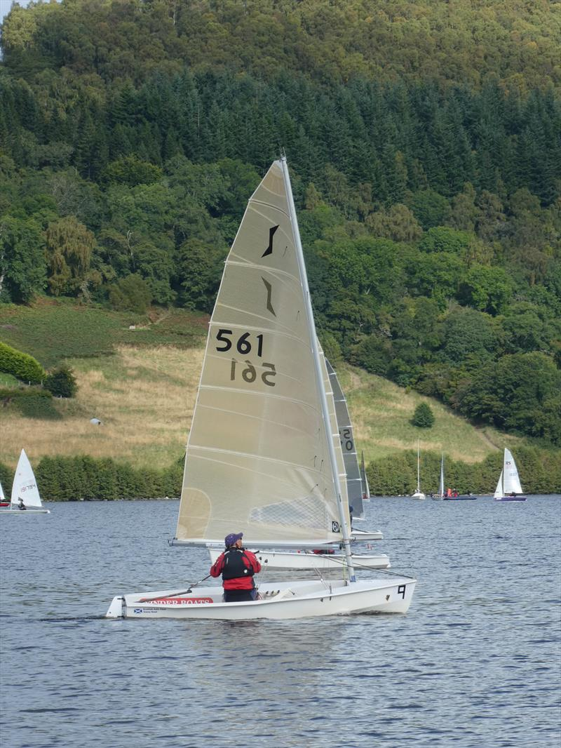 HD Sails Scottish Solo Championship at Loch Tummel Sailing Club