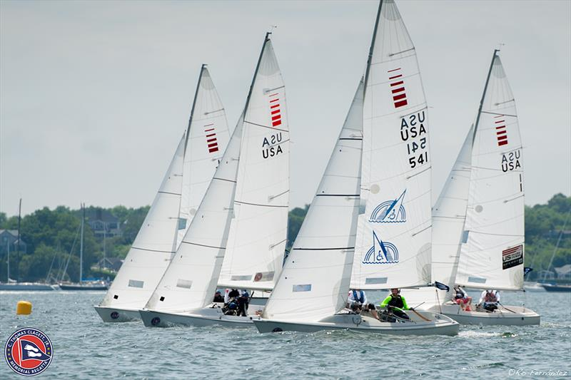 Sonars hit the start line for day one of racing - 2018 Clagett Regatta and U.S. Para Sailing Championships - photo © CLagett Regatta-Ro Fernandez